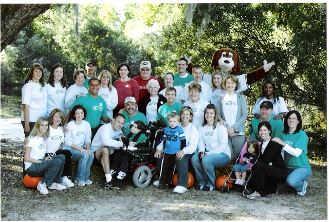 Mda walk group pic