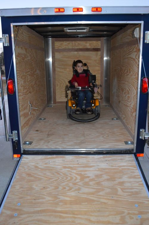 Max in trailer